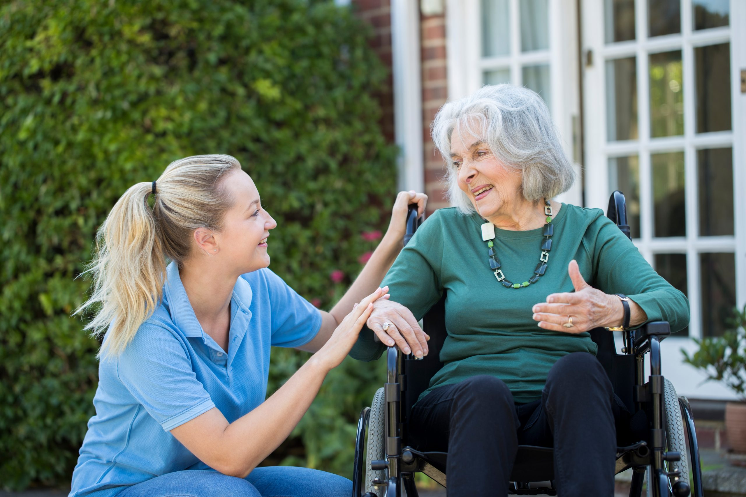 A new career in live-in care